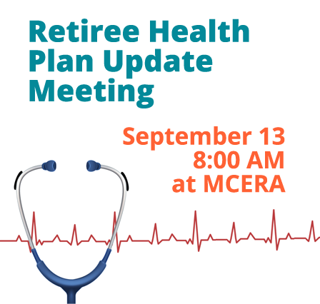 Retiree health plan meeting September 13