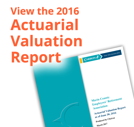 Cover of actuarial report